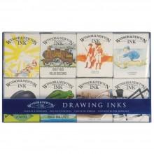 Winsor & Newton Zeichnung Tinten - William-Set (8 x 14ml Flaschen)