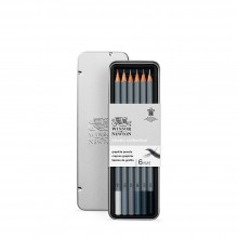 Winsor & Newton : Studio Collection : Graphite Pencil : Set of 6