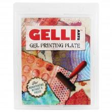Gelli Teller 12 x 14 cm