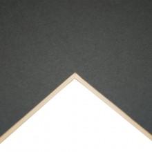 Daler Studland Passepartout A1 (23 3/8 x 33 1/8 Zoll) Dark Grey: 1072