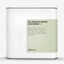 Jacksons Öl Medium: Schnelle Trocknung Öl Malerei Medium 2,5 Liter