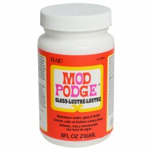 Mod Podge : Decoupage Glue and Finish : Gloss : 8oz : 236ml