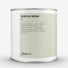 Jacksons Gloss Gel Medium: 1 Liter Öl Farbe Mittel