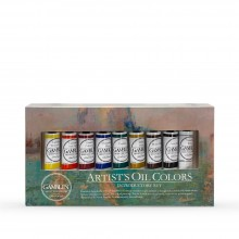 Gamblin : Artist Oil Paint : 37ml : Introductory Set of 9
