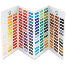Alte Holland Öl Farbe handgemalt Farbkarte
