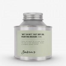 Jacksons: 250ml nass in nass schnell trocken Ölgemälde Medium