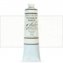 M. Graham : Artists' Oil Paint : 150ml : Titanium White