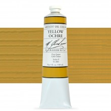 M. Graham : Artists' Oil Paint : 150ml : Yellow Ochre