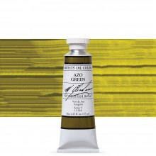 M. Graham : Artists' Oil Paint : 37ml : Azo Green