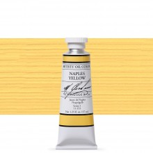 M. Graham : Artists' Oil Paint : 37ml : Naples Yellow