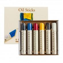 Sennelier Öl Stöcken: Satz von sechs 38ml Künstler Qualität
