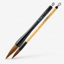 Akashiya : Sharaku : Synthetic Hair Calligraphy Brushes