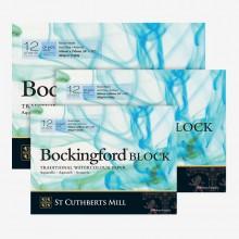 Bockingford : Watercolour Papers : White : Blocks : Not