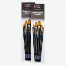 Pro Arte : Mastertouch : Aquamarine : Watercolour & Gouache Brush Sets