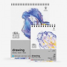 Winsor & Newton : Drawing : Cartridge Spiral Pads : 150gsm : 25 Sheets