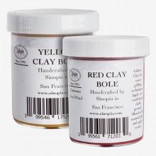 Sinopia : Clay Bole For Water Gilding