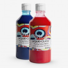 Tri-Art : Liquid Glass : Pouring Colour