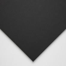 Halbmond Art Schaumstoff-Board: schwarzem Kern und Black Paper Liner: 5mm: A2