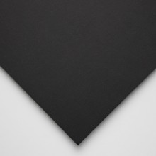 Halbmond Art Foam Board: Black Core und Black Paper Liner: 5mm: 19.5x27.5 cm