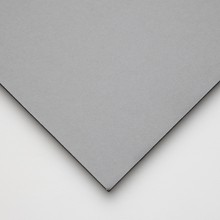 Halbmond Art Foam Board: Core Black und Black / Grey Paper Liner: 5mm: 19.5x27.5 cm