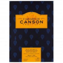 Canson : Heritage : Watercolour Paper Pad : 300gsm : 26x36cm : 12 Sheets : Cold Pressed