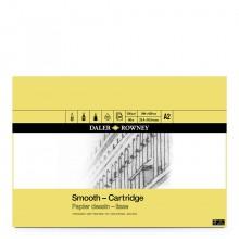 Daler-Rowney: A2: Cartridge Pad 130gsm - 30 Blätter - säurefrei