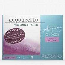Fabriano Artistico blockieren traditionelle HP 140lb 18 X 24:10 s