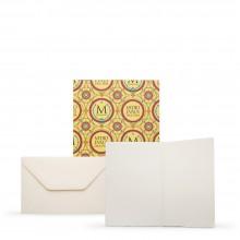Fabriano : Medioevalis : 20 Blank Cards & Envelopes : 9x14cm : Portrait