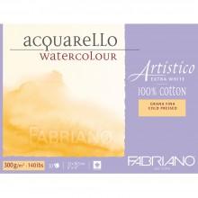 Fabriano Artistico Block EXTRA WHITE nicht 140lb 9 x 12: 20-30 Jahre