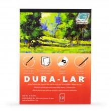 Grafix: Nasse Medien.004 Zoll Dura-Lar: 14 x 7 Zoll Pad: 12 Blatt