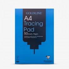 Goldline : Professional Tracing Pad : 90gsm : A4 21x29.7cm