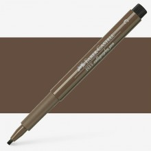 Faber Castell : Pitt : Calligraphy Pen : Walnut Brown