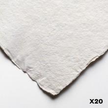 Jacksons Eco Papier mittlerer grobe 140lb 20 X 1/4 Blätter (15 X 11 Zoll)