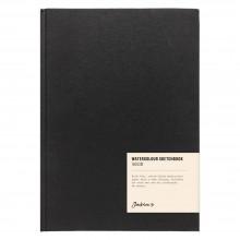 Jackson's : Watercolour Sketchbook : 160gsm : 48 Sheets : 17x24cm : Portrait