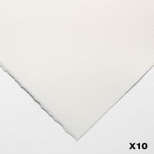 Bögen Aquarelle 140lb (300gsm) nicht 22 x 30 in (56X76cm) x 10