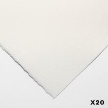 Bögen Aquarelle 140lb (300gsm) nicht 22 x 30 in (56X76cm) x 20