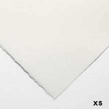 Bögen Aquarelle 140lb (300gsm) nicht 22 x 30 in (56X76cm) x 5