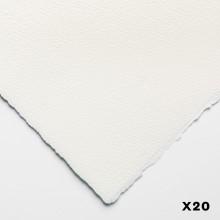 Bögen Aquarelle 140lb (300gsm) grobe 22 x 30 in (56X76cm) x 20