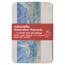 Hahnemühle: Aquarell Postkarte Packung zu 30