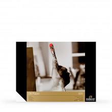 Royal Talens : Rembrandt : Ölfarben-Malblock : 300g/m² : 30x40cm