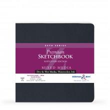 Stillman & Birn : Zeta Softcover Sketchbook : 270gsm : Smooth : 7.5x7.5in (19x19cm) : Square