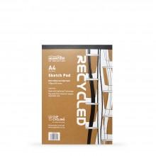 Seawhite : Cupcycling : Zeichenpapierblock : 140g/m² : A4