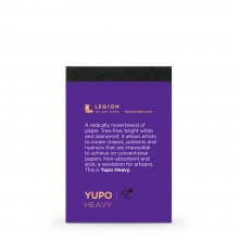 Yupo : Heavy Pad : 9.5x6.3cm : Sample : 1 Per Order