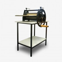 AE Presses : Etching Press : 18x33in : With Stand & Woven Wool Felts