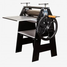 AE Presses : Floor Standing Etching Press : 29x48in : With Woven Wool Felts