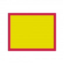 Jackson's : Aluminium Screen Printing Screen : 120T Yellow Mesh : 19x24 inches