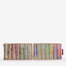 Jackson's : Handmade Soft Pastel : 196 Colours : Wooden Box Set