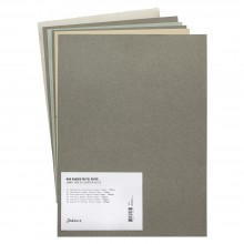 Non-Sanded Pastel Paper : Comparison Pack of 6 Quarter Sheets
