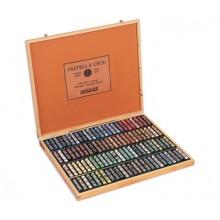 Sennelier : Soft Pastel : Wooden Box Set of 100 : Landscape