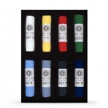 Unison Colour : Soft Pastel : Set of 8 Starter